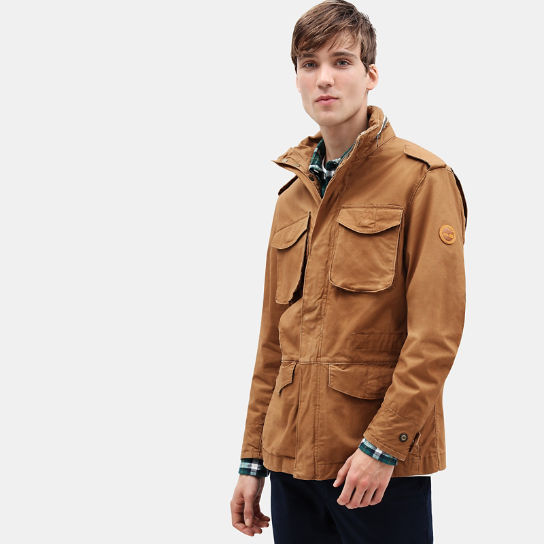 MT Kelsey M65 Jacket for Men in Brown | Timberland