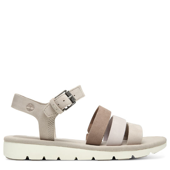 Lottie Lou Multi-Strap Sandal for Women in Taupe | Timberland