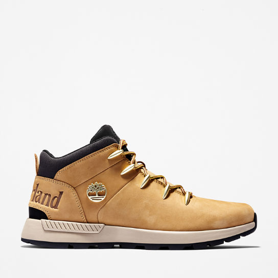 Sprint Trekker Mid Boot for Men in Yellow | Timberland