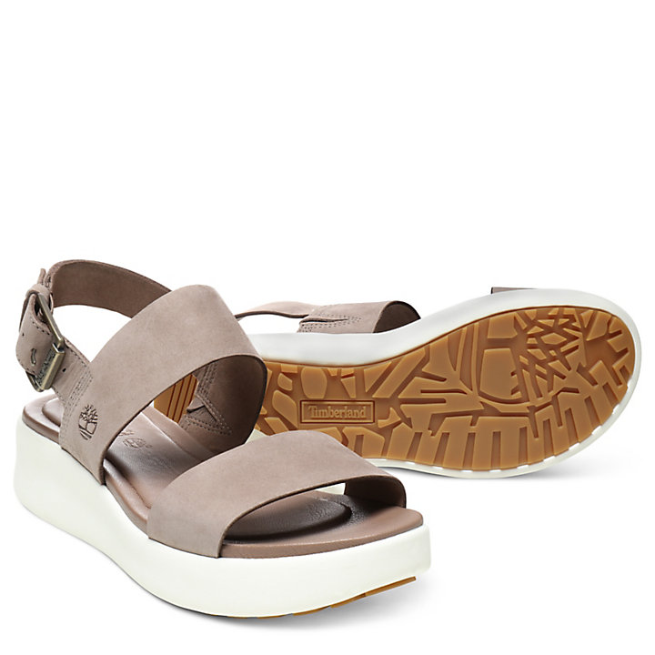 Los Angeles Wind Sandal for Women in Light Brown-