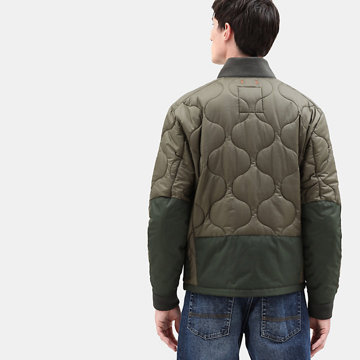 Ecoriginal Bomber for Men in Green-