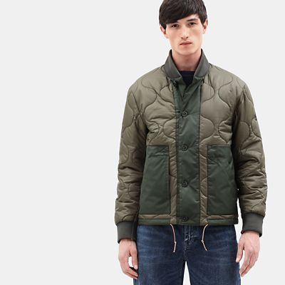 Ecoriginal+Bomber+for+Men+in+Green