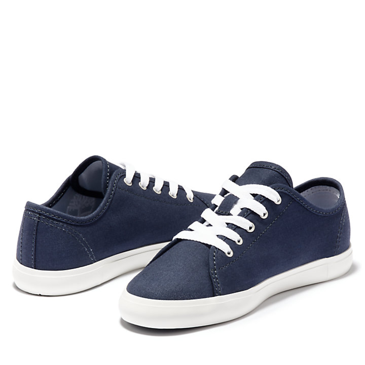 Newport Bay Canvas Oxford for Youth in Navy-