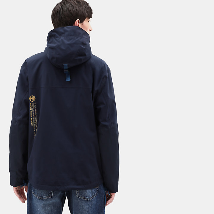 Ecoriginal Anorak for Men in Navy-