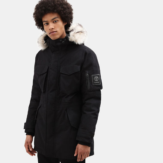 Nordic Edge Expedition Parka for Men in Black | Timberland