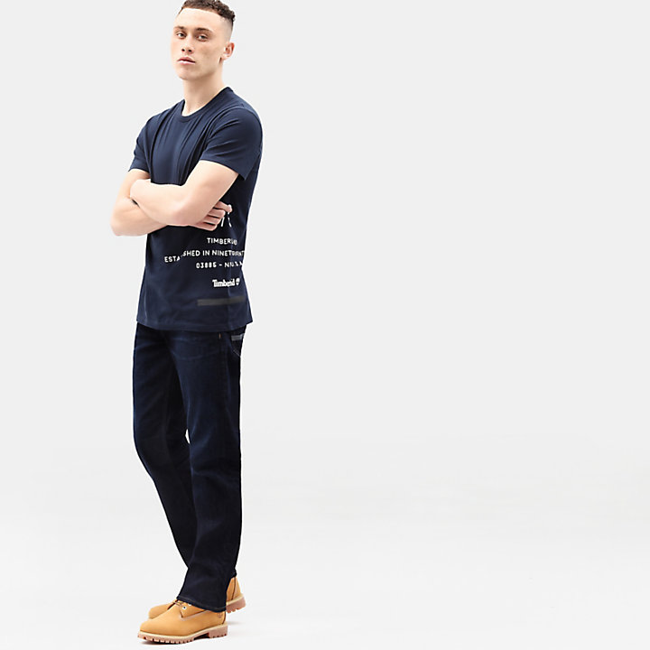 Heritage Stretch-jeans voor Heren in indigo-