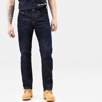 Heritage+Stretch+Jeans+for+Men+in+Indigo