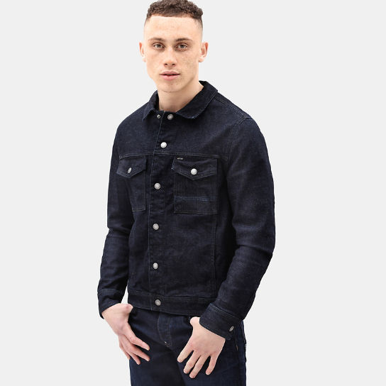 Denim Trucker Jacket for Men in Indigo | Timberland
