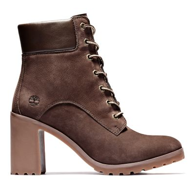 Allington+6+Inch+Lace-Up+Boot+voor+Dames+in+bruin