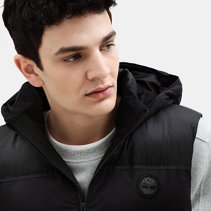 South Twin Vest for Men in Black-
