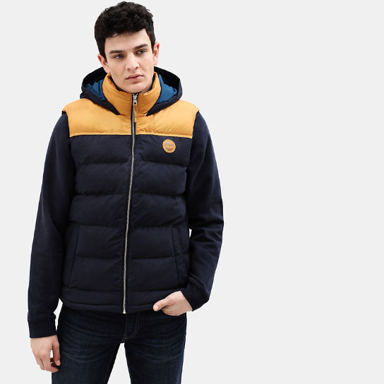 South Twin Vest for Men in Yellow/Navy | Timberland