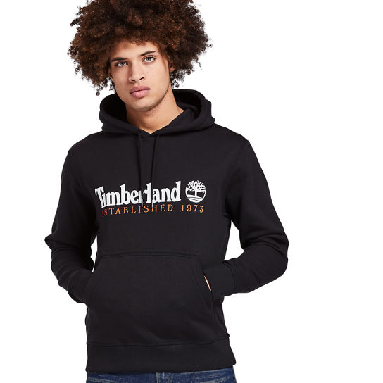 Essential 1973 Hoodie for Men in Black | Timberland