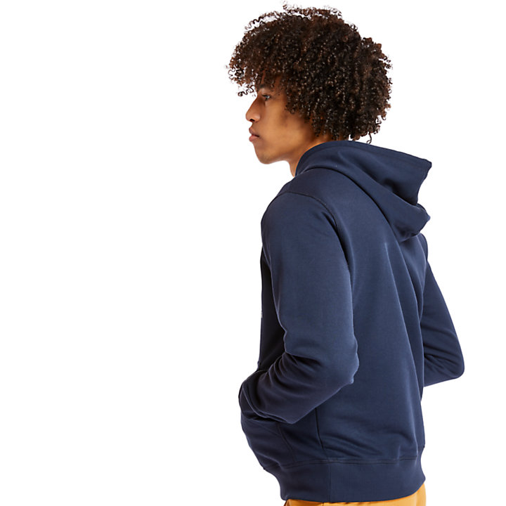 Essential 1973 Hoodie for Men in Navy-