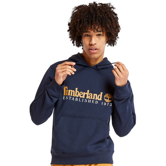 Essential 1973 Hoodie for Men in Navy | Timberland