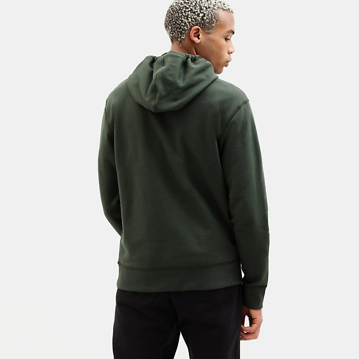 Essential 1973 Hoodie for Men in Green-