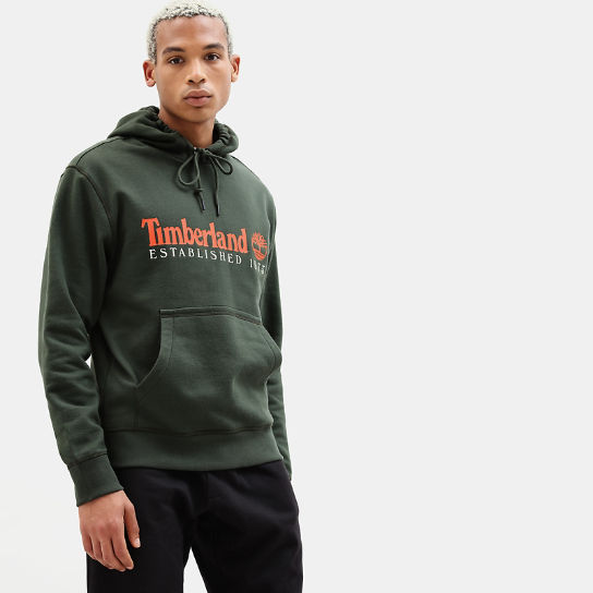 Essential 1973 Hoodie for Men in Green | Timberland