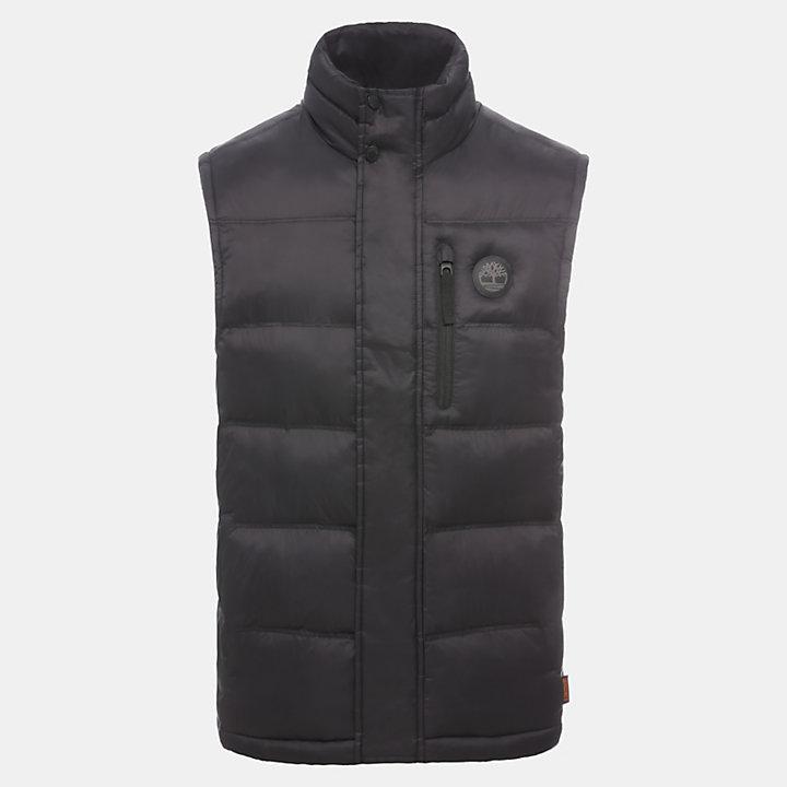 Mt Weeks Vest Jacket for Men in Black-