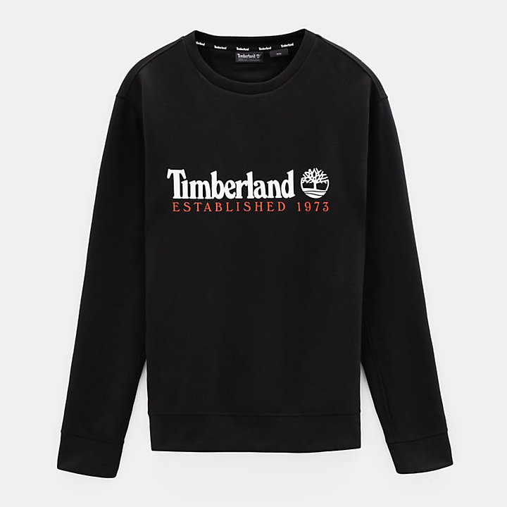 Essential Sweatshirt voor Heren in zwart-