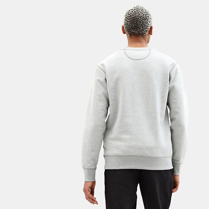 Essential Sweatshirt voor Heren in grijs-