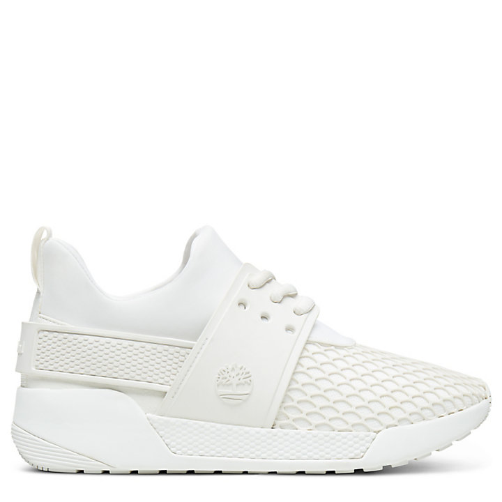 Kiri Up Pattern Sneaker for Women in White-