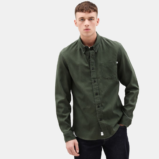 Camicia da Uomo Smith River in verde | Timberland