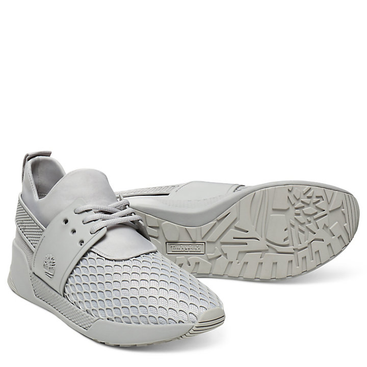 Kiri Up Pattern Sneaker for Women in Light Grey-