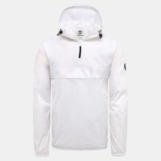 pretty nice 0dff5 26963 Giacca da Uomo Impermeabile con Cappuccio in bianco
