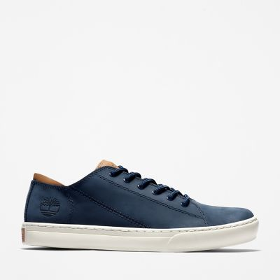 Adventure+2.0+Cupsole+Oxford+voor+Heren+in+Marineblauw