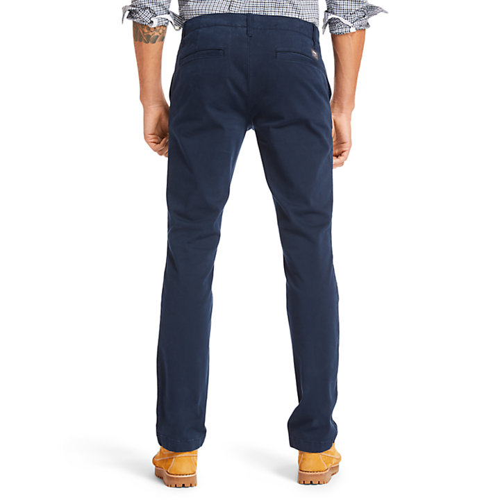 Sargent Lake Ultrastretch Chinos for Men in Navy-