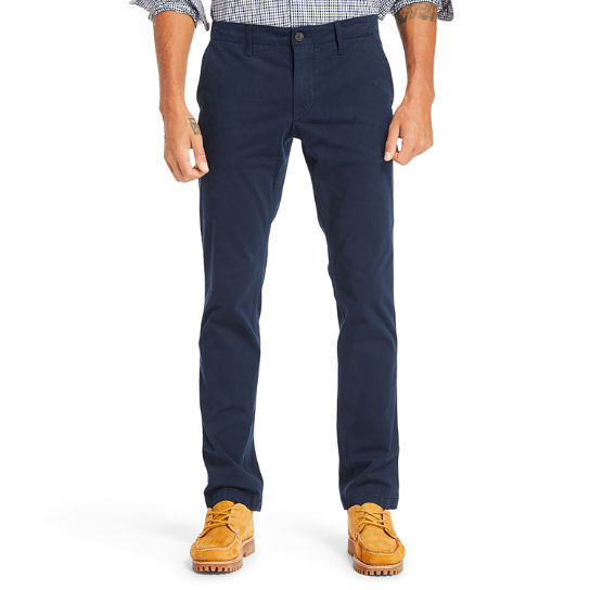 Sargent Lake Ultrastretch Chinos for Men in Navy | Timberland