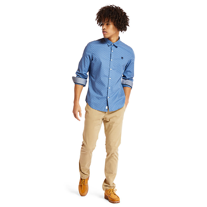 Sargent Lake Stretch Chino voor Heren in kaki-
