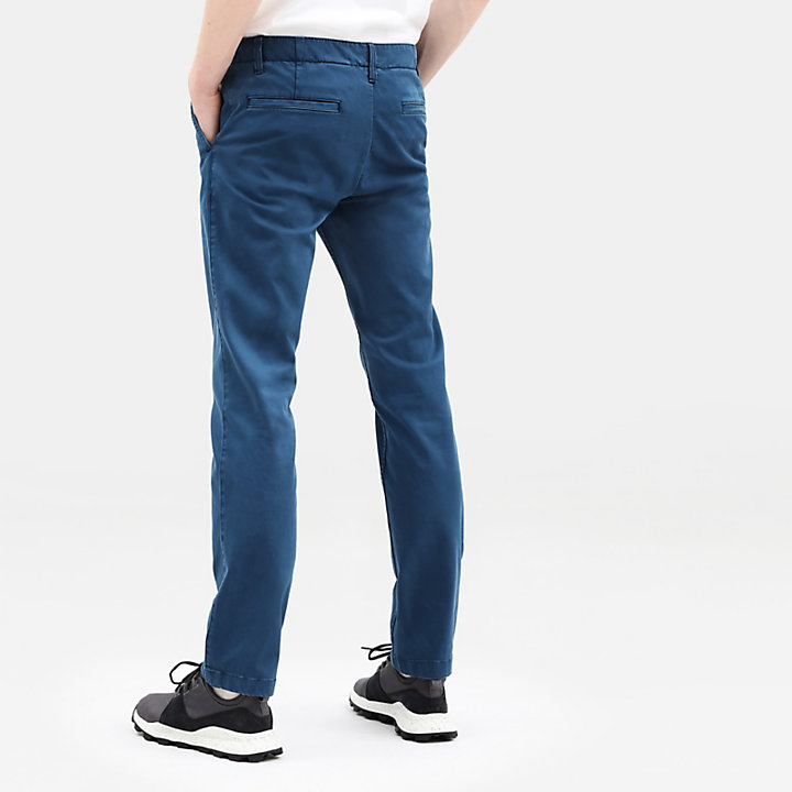 Sargent Lake Ultrastretch Chinos for Men in Teal-