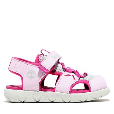 Perkins+Row+Fisherman+Sandal+for+Toddler+in+Pink