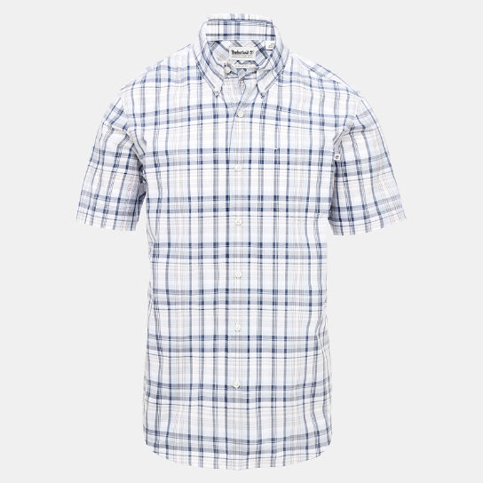 Indian River Check Shirt for Men in Light Blue | Timberland