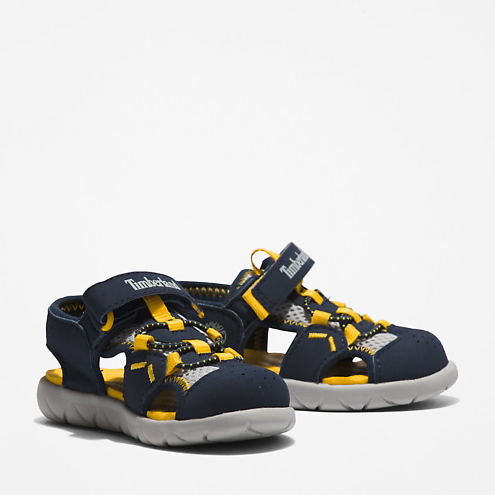 Perkins Row Fisherman Sandal for Toddler in Navy-