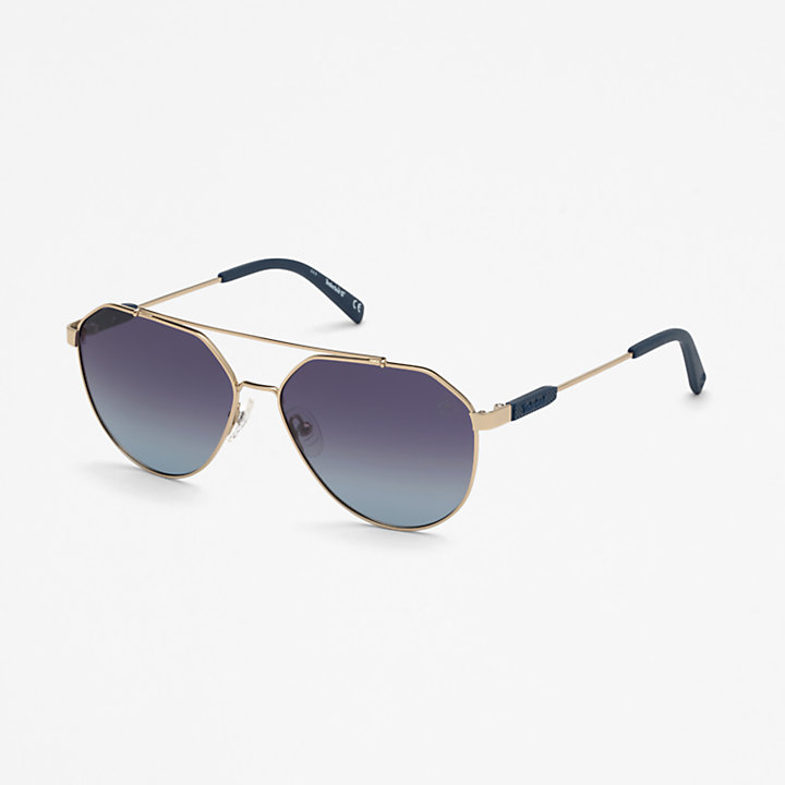 Timberland® Marcolin Pilotensonnenbrille in Gold-