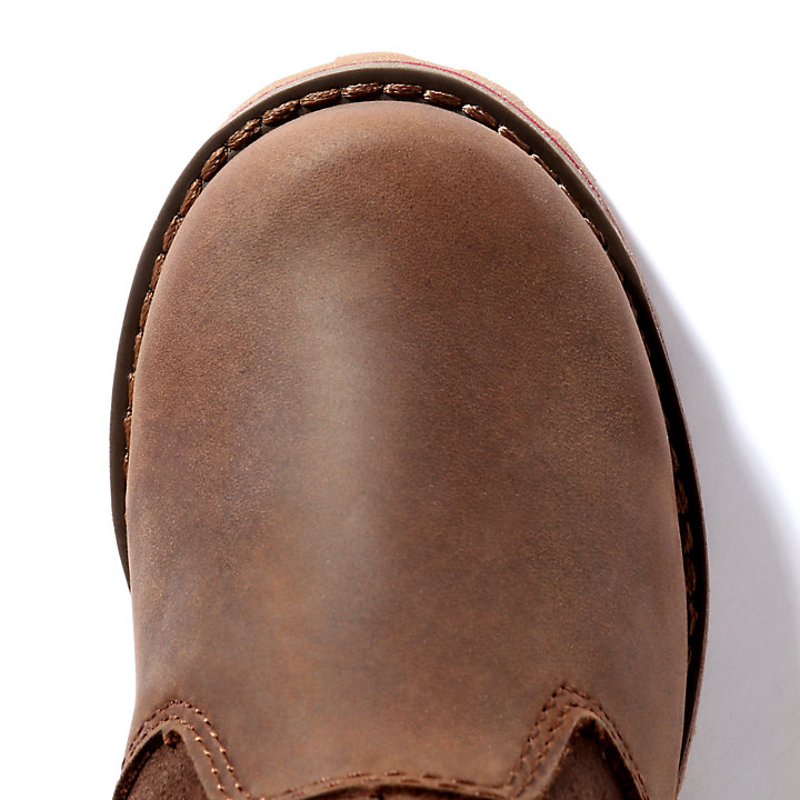 Honeybrook Chelsea for Youth in Dark Brown-