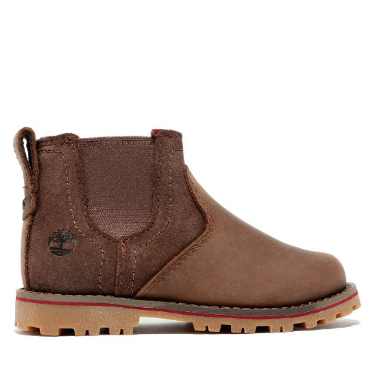 Honeybrook Chelsea for Youth in Dark Brown | Timberland
