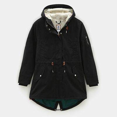 MT+Kelsey+Teddy+Fleece+Parka+f%C3%BCr+Damen+in+Schwarz