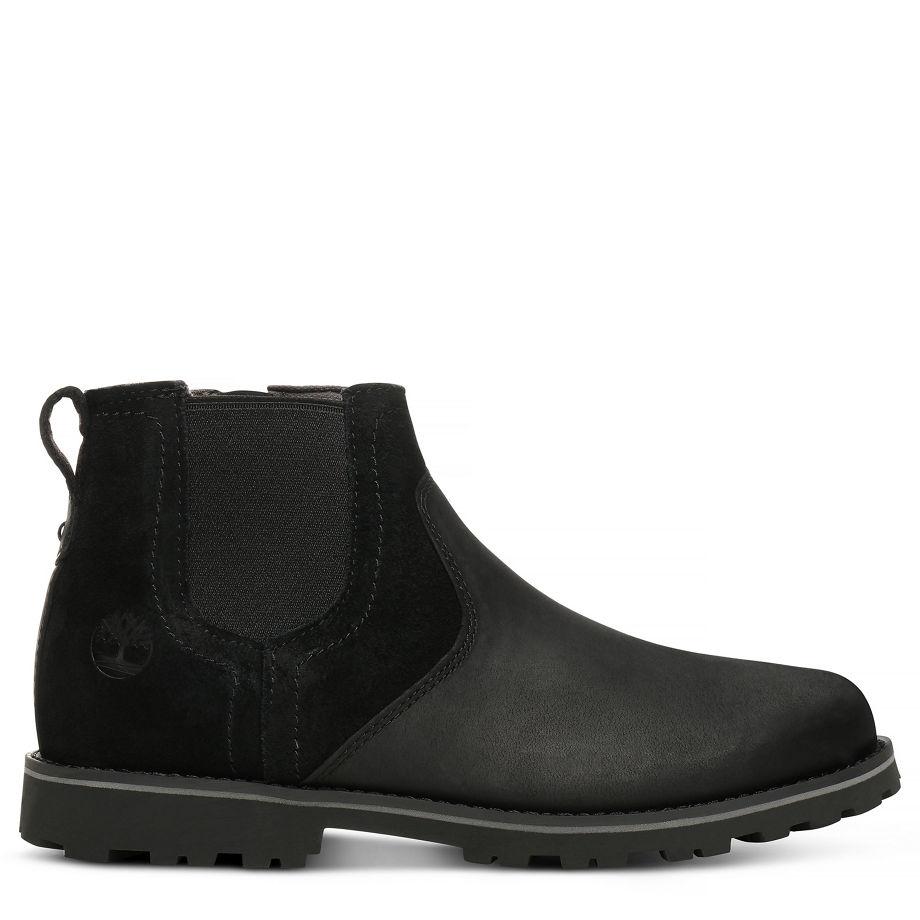 Schwarz Für Kinder Chelsea Boots Timberland Honeybrook In fvIgbY76ym
