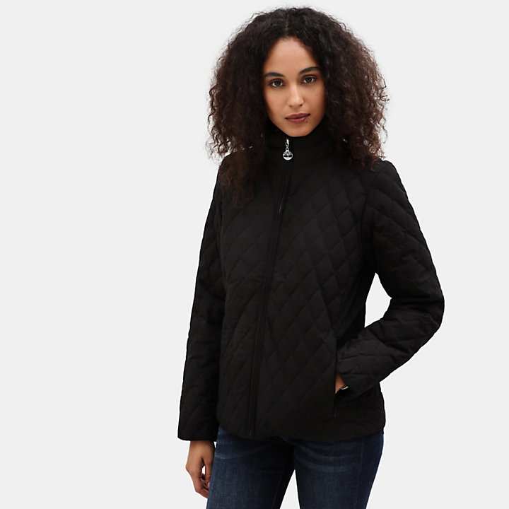 Piper Mountain Steppjacke für Damen in Schwarz-