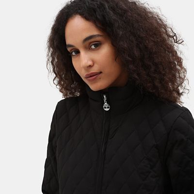 Piper+Mountain+Quilted+Jacket+for+Women+in+Black