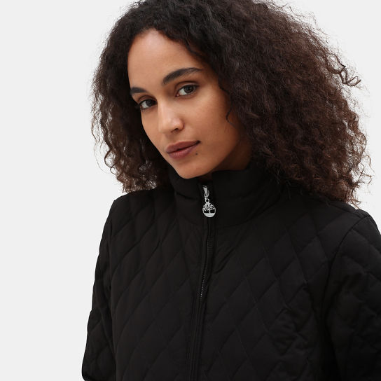 Piper Mountain Quilted Jacket for Women in Black | Timberland