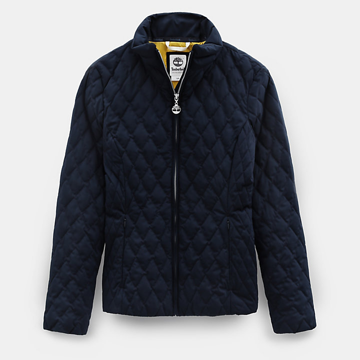 Piper Mountain Quilted Jacket for Women in Navy-