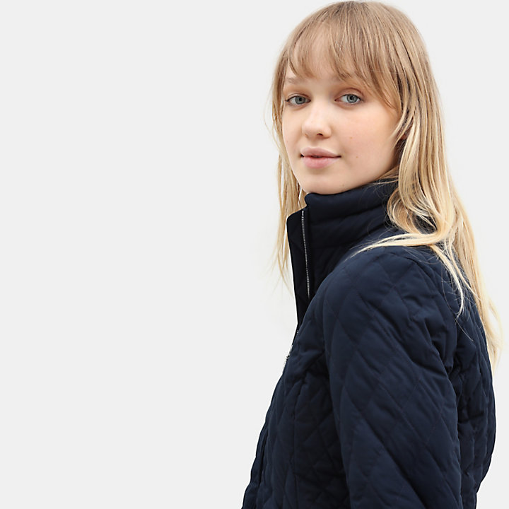 Piper Mountain Steppjacke für Damen in Navyblau-