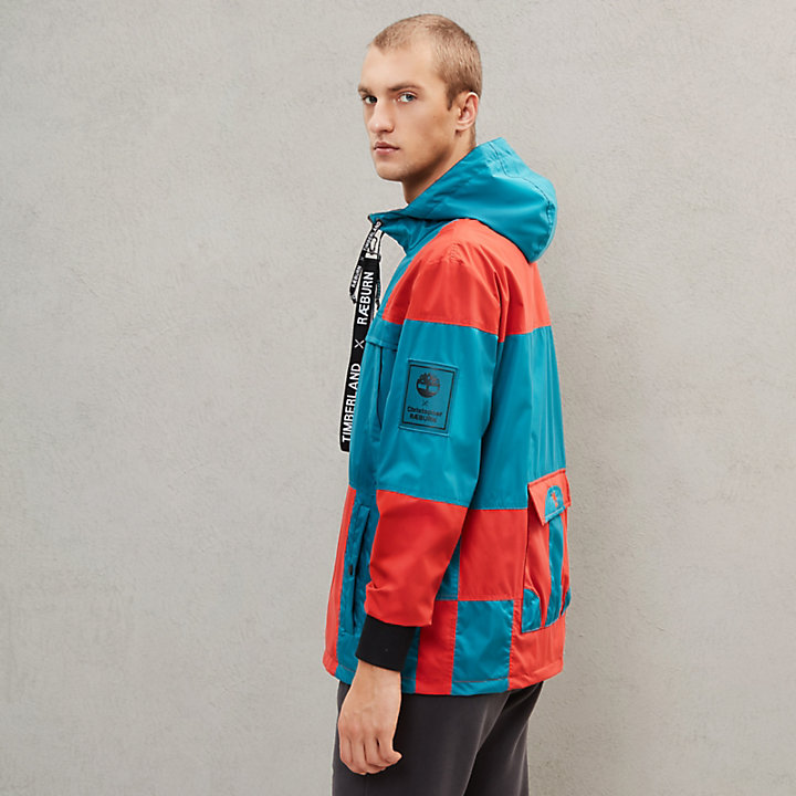 Timberland® x Raeburn Reversible Anorak for Men in Blue-