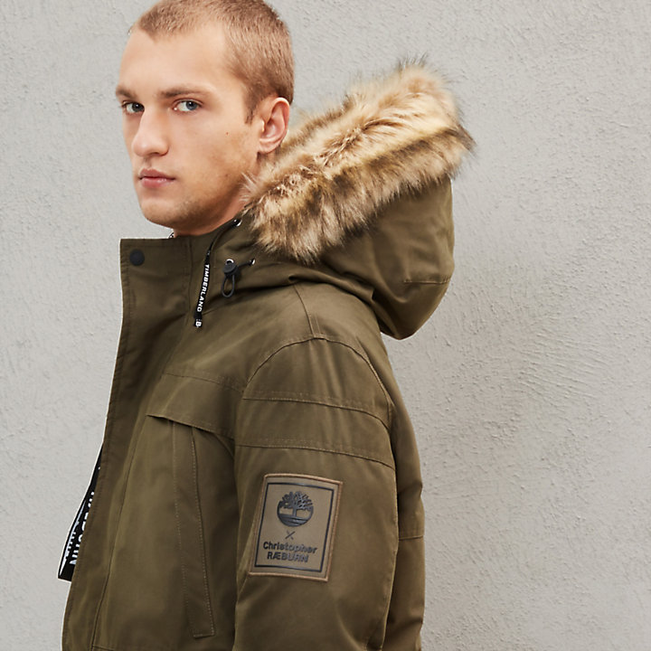 Timberland® x Raeburn Parka for Men in Green-