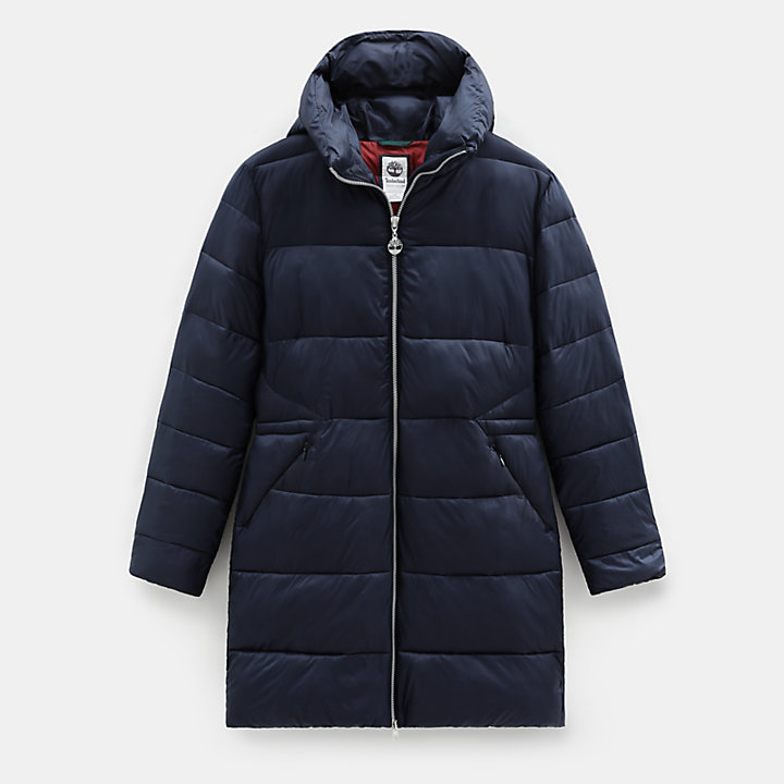 Mount Rosebrook Quilted Parka for Women in Navy-