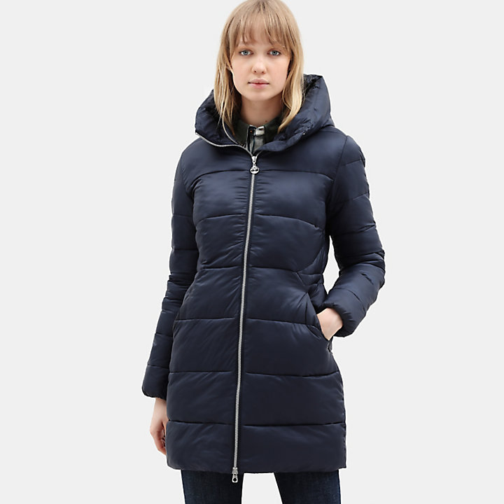 Mount Rosebrook Parka mit Steppung für Damen in Marineblau-