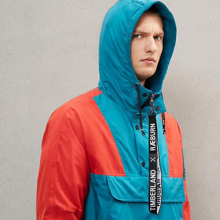 Anorak Timberland® x Raeburn réversible pour homme en bleu-